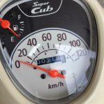 アウトランダーPHEVとスーパーカブ110の燃費比較|経済性はどちらが上?